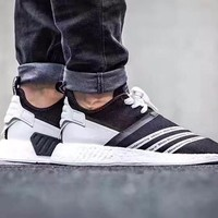 Best Online Sale Adidas NMD R2 Primeknit WM NMD Boost Sport Running Shoes Classic Casual Shoes Sneakers
