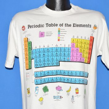 90s Periodic Table of Elements Science t-shirt Medium
