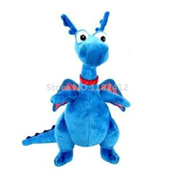 Doc McStuffins Mini Cute Stuffy Blue Dragon Plush Toy Stuffed Animals 22cm Baby Kids Toys for Children Gifts