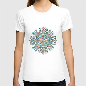 The middle of the Earth mandala T-shirt by Zsalto