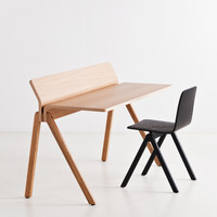 Copenhague Moulded Plywood Desk CPH190 by Ronan and Erwan Bouroullec