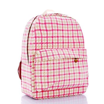 Back To School Casual Hot Deal Comfort Stylish College On Sale Plaid Vintage Backpack [8097660487]