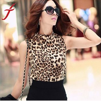 Leopard Camisole