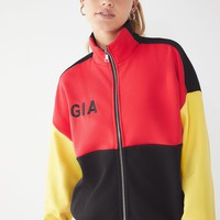 I.AM.GIA Colorblock Zipper Sweatshirt | Urban Outfitters