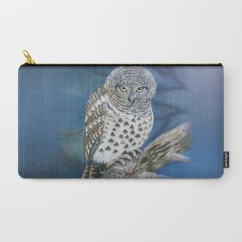 Owl Carry-All Pouch by Azure Avenue