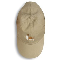 Corgi Embroidered Baseball Cap BB3420BU-156