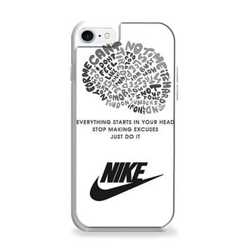 NIKE JUST DO IT QUOTE LOGO iPhone 7 | iPhone 7 Plus Case