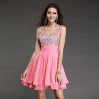 Women Sexy Short Homecoming Dresses Evening Party Cocktail Dress Ball Prom Gowns