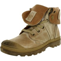 Palladium Women's Pallabrouse Leather Ankle-High Leather Boot
