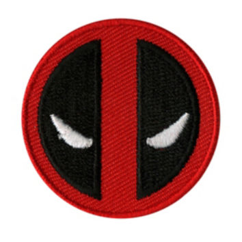 Marvel Deadpool Logo Mini Iron-On Patch