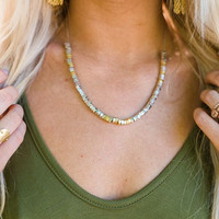 Mixed Metals Layering Necklace