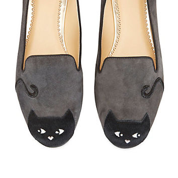 Women's Loafers - Peeping Kitty Loafer | C. Wonder