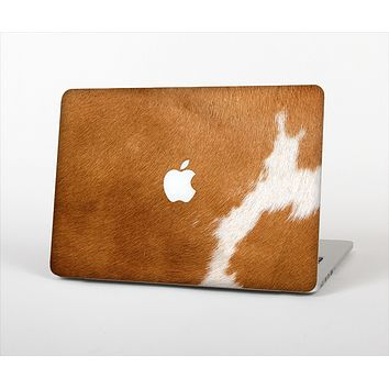 The Real Brown Cow Coat Texture Skin Set for the Apple MacBook Pro 13""