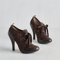 French Luxe Like We Made It Heel in Cocoa by ModCloth
