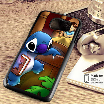 Stitch And Lilo Samsung Galaxy S4 S5 S6 Edge Plus S7 Edge Case Note 3 4 5 Edge Case