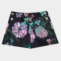 Young Versace Floral Burst Shorts for Girls | Official Website