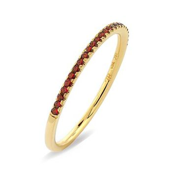 Bony Levy Stackable Gem Straight Band Ring   Nordstrom