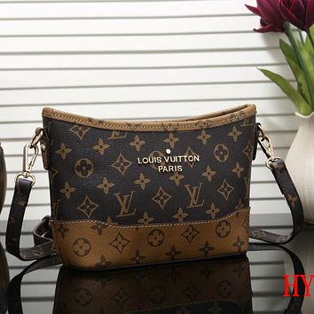 Louis Vuitton LV Fashion Leather Crossbody Shoulder Bag Satchel