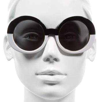 Vow London Edie 51mm Round Sunglasses | Nordstrom