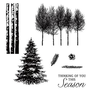 new 1 Sheet Merry Christmas Tree Transparent Silicone Stamp DIY Scrapbooking Xmas Thanksgiving Holiday Cards Decor Clear Stamp