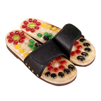 Summer Slippers Massage Slippers Boho Toning Shoes Home Women Slippers Female Sandals Casual Shoes Women Flat Zapatillas