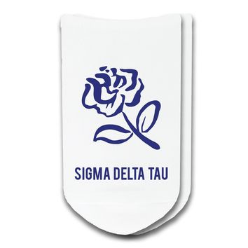 Sigma Delta Tau - Sorority Icon No-Show Socks