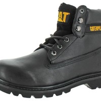 "Caterpillar Cat Men's Colorado 6"" Work Boots Nubuck Leather"