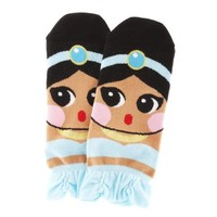 Cute Cartoon Character Socks Princess Series (Jasmine)