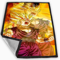 Dragon Ball Z Goku Blanket for Kids Blanket, Fleece Blanket Cute and Awesome Blanket for your bedding, Blanket fleece **