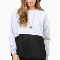 Rise Of Dawn Long Story Spliced Sweater $50