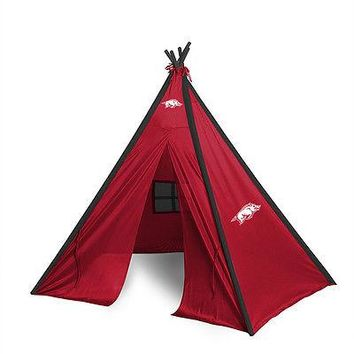 Arkansas Razorbacks Teepee Play Tent