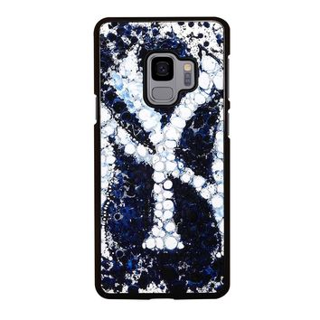 NEW YORK YANKEES ART Samsung Galaxy S3 S4 S5 S6 S7 S8 S9 Edge Plus Note 3 4 5 8 Case
