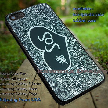 Fan art, hand drawing, 5sos, 5 Second of Summer, case/cover for iPhone 4/4s/5/5c/6/6+/6s/6s+ Samsung Galaxy S4/S5/S6/Edge/Edge+ NOTE 3/4/5 #music #cartoon #5sos ii
