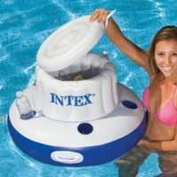 Intex Mega Chill Floating Ice Chest 28 In. D X 20 In. Tall