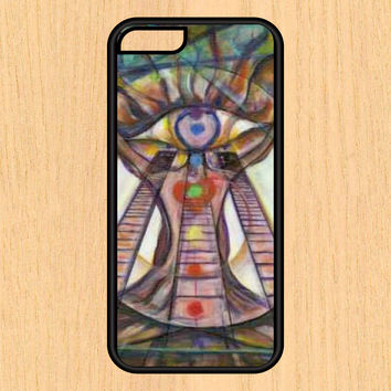 Chakras Version 101 Yoga Print Design Art iPhone 4 / 4s / 5 / 5s / 5c /6 / 6s /6+ Apple Samsung Galaxy S3 / S4 / S5 / S6