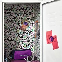 Multi Cheetah Locker Wallpaper, 3 Sheets