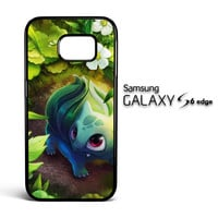Pokemon Bulbasaur Y1357 Samsung Galaxy S6 Edge Case