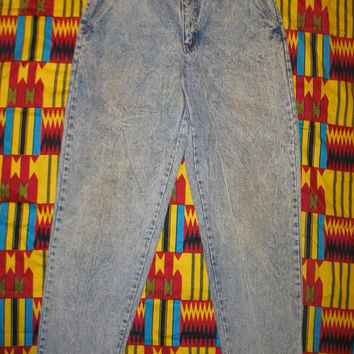 Vintage 90s JORDACHE BASICS Awesome Acid Wash High Rise Jeans