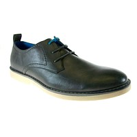 Mens Tony's Derby Round Toe Oxfords Dress Shoes C-1404 Grey