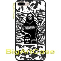 Best New Lil Wayne Black Poster Design Art CASE COVER iPhone 6s/6s+/7/7+/8/8+, X