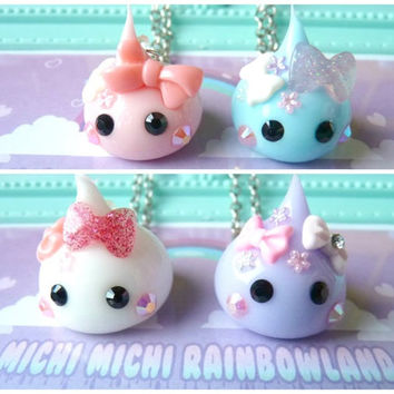 Hoppe Chan Decora Creature Silicone Kawaii Necklace or Keyring