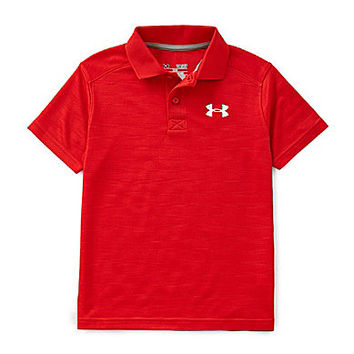 Under Armour 8-20 Classic Stripe Polo