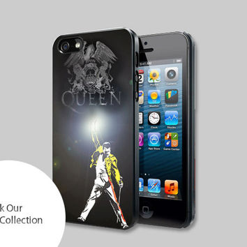 Queen Freddie Mercury For iPhone, Samsung Galaxy and iPod cases
