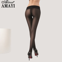3Pcs/Lot Fashion Women 40D T File Pantyhose High Elastic Anti-Hook Seamless Stockings Sexy Transparent Ultr Thin Slim Tights