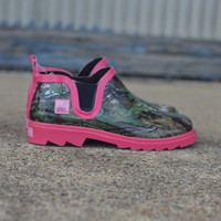 Ms. Gi Gi by RealTree Girl Rain Boot {Pink Camo}