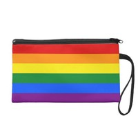 Bagettes Bag with Rainbow LGBT Pride Flag