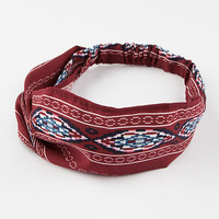 FULL TILT Ethnic Print Headwrap | Hair Accessories BOGO Free