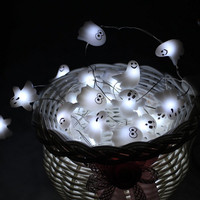LED Halloween Friendly Ghost String Lights