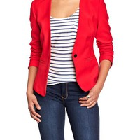 Old Navy Womens Collarless Blazers Size L - Apple of my eye