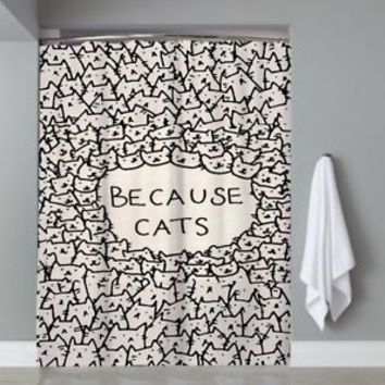 Top Famous Hot Because Of The Cats Movie Custom Shower Curtain Limited Edition